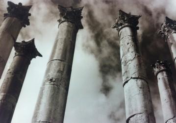 Corinthian Columns at Jerash in Amman