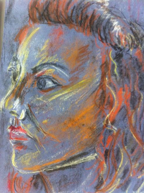 Portrait of my sister Lynne