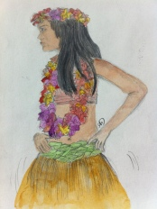 Cook Islands Dancer in Raratonga