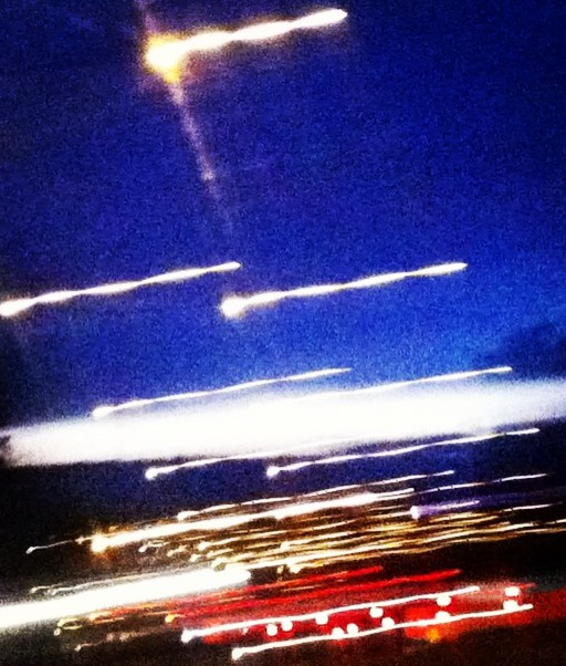 Driving home for Christmas 3, Täby to Åkersberga, Sweden.