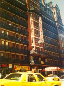 The Chelsea Hotel - where every room tells a story.
