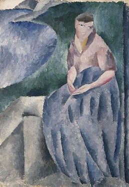 Siri Derkert Self-portrait 1915