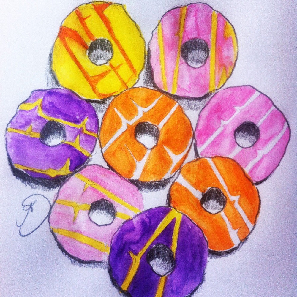 A plate of Party Rings.