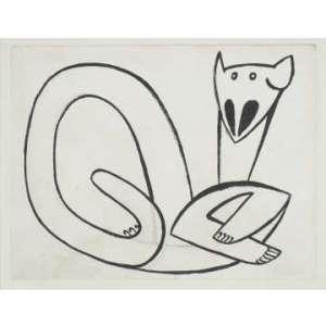 Henri Gaudier-Brzeska Cat