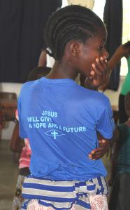International Day of the Girl Child at Isamilo International School in Mwanza, Tanzania.