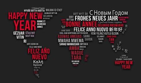 Happy New Year from around the world.