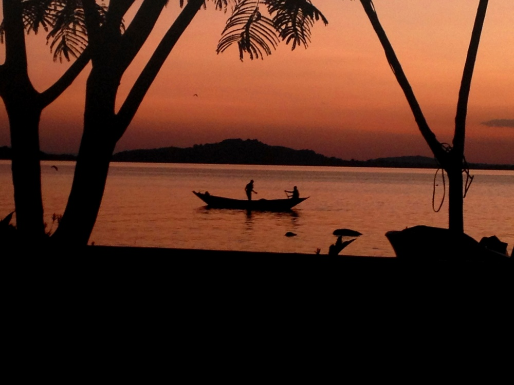 Sunrise over Lake Victoria