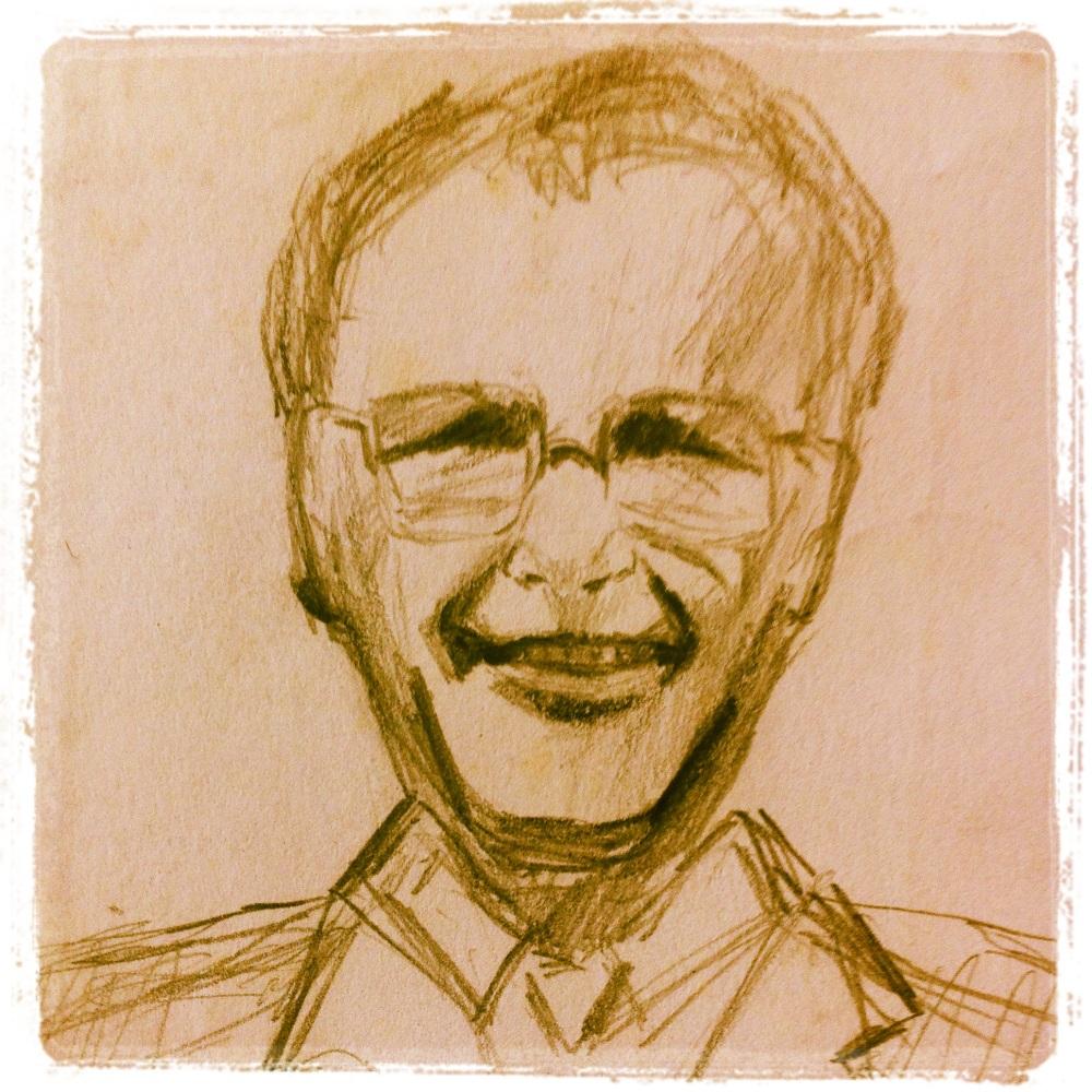 A sketch of my dad, David.