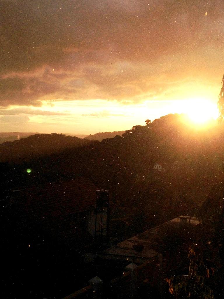 Sunshine and showers over Mwanza 2