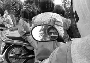 Me on a Moto, Kigali, Rwanda