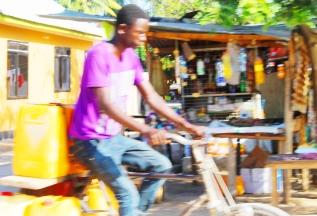 Water Seller in Kigamboni, Dar Es Salaam