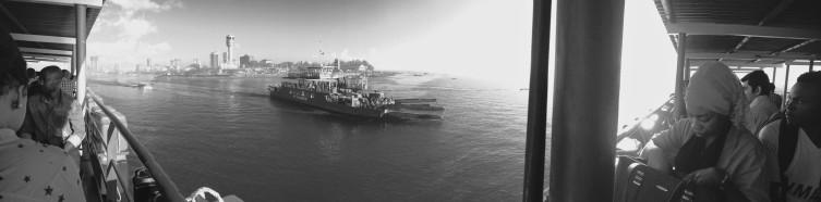 Kigamboni ferry panorama, Dar Es Salaam