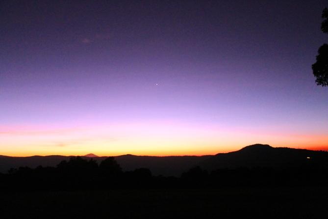 Sunrise Horizon 2 on the edge of the Ngorogoro Crater in Tanzania