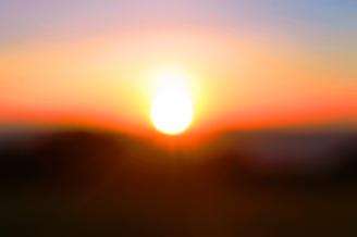 Sunrise Horizon 4 on the edge of the Ngorogoro Crater in Tanzania