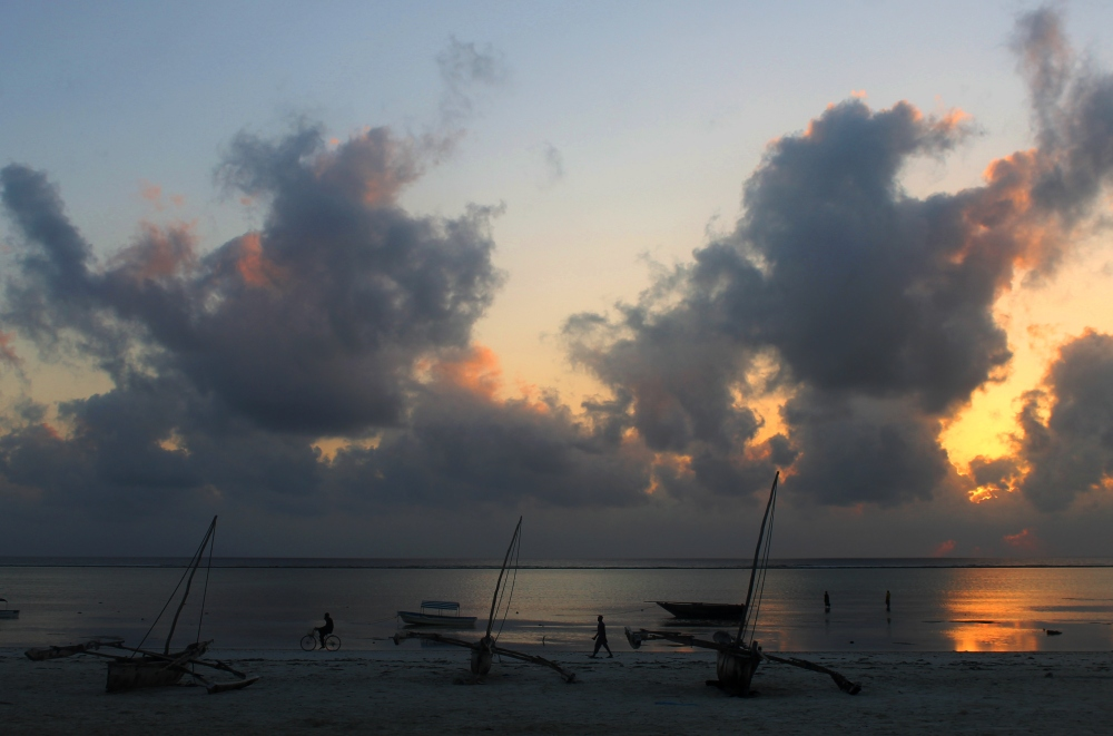 Dawn on Matemwe Beach, Zanzibar
