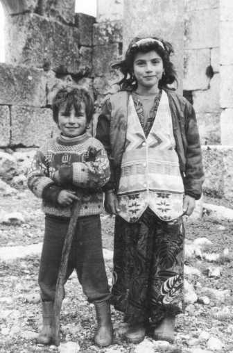 Children from the Dead Cities around Aleppo, Syria.