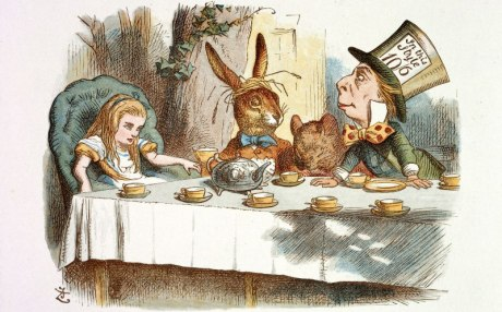 Mad hatters tea party pic from Alice in Wonderland