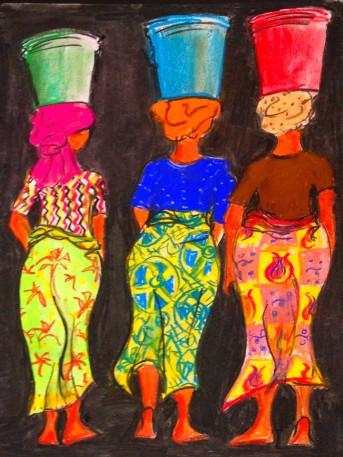 Three Tanzanian Women