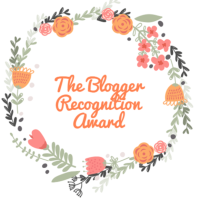 I've been awarded the Blogger Recognition Award - not once but twice!