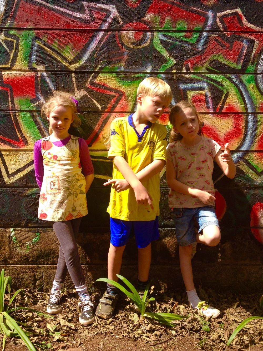 New Kids on the Block - Frida, Leon and Lottie at the Nairobi Art Centre