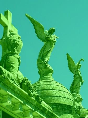 Recoleta Cemetery in Buenos Aires