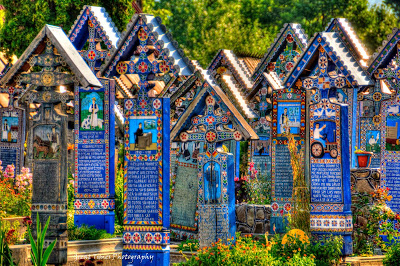 Merry Cemeteryin Săpânța, Romania