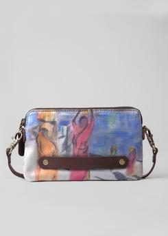Pushkah Lake - statement clutch bag