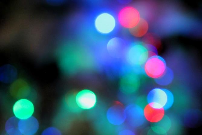 Blurred Christmas Lights 4